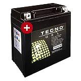 Tecno YTX16-BS Gel Batterie VN 1500 D CLASSIC 1996-1997