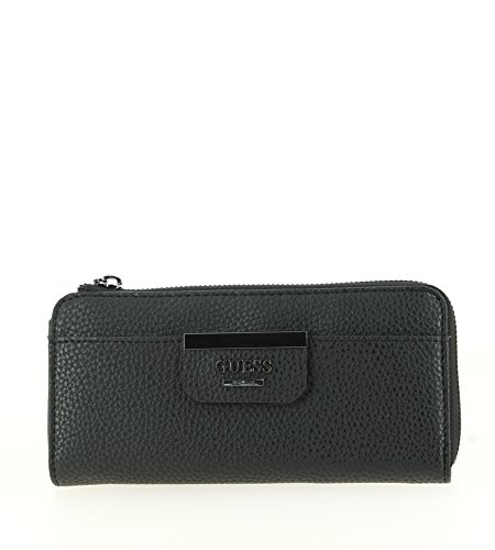 GUESS - Geldbörse BOBBI SLG Slim Zip Wallet black, BS642252-BLA (Zip Wallet Slim)