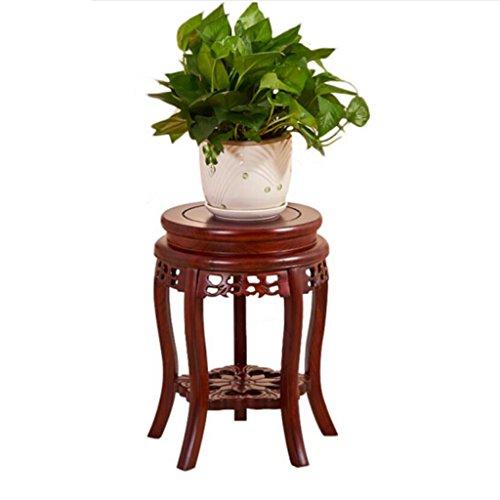 Lxlc Support de Fleur en Bois Massif Salon Balcon Fleur Pot Rack étage Chinois intérieur Multi-Couche Fleur Stand (diamètre 30 * Hauteur 100 cm) (Taille : 30 * 45cm)