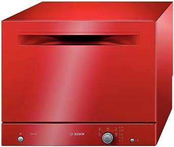 Bosch SKS50E01EU Lave-Vaisselle 7 L 52 dB Classe: A+AB Rouge
