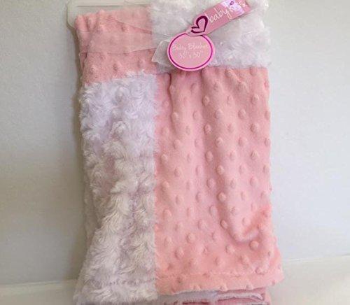 Baby Decke von Baby Kiss (Pink und Weiß)