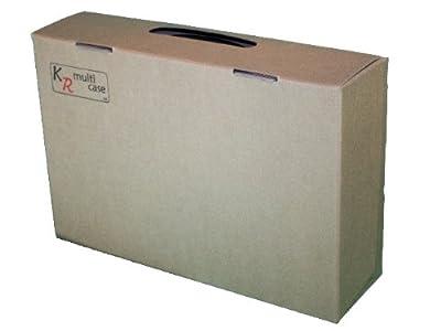 KR Multicase Étui à Cartes Standard avec Format V Pick&Pluck, 6 rangées, Chaque rangée de 30 mm de Large, 10 mm de diamètre, Plus 54 Compartiments, chacun 52 mm x 32 mm.