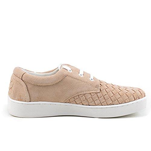 Shenduo - Sneakers & Mocassins pour homme Nubuck - Loafers confort - Chaussures de ville D7366 Beige