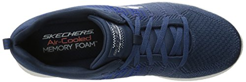 Skechers Burst In The Mix, Chaussures Multisport Outdoor homme blue