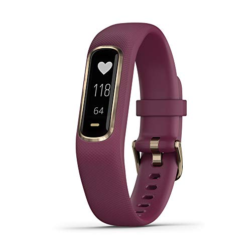 Garmin Rubber Vivosmart 4 Fitness Tracker (Purple)