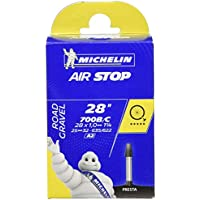 Michelin Airstop- Camera d'aria per bicicletta (700 c, 25-32 mm con valvola francese 40 mm)