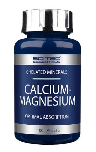 Scitec Essentials Calcium-Magnesium, 100 Tabl. (Chelated Magnesium 100 Tabletten)