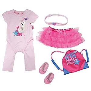 Zapf Creation 818039 - Baby Born Deluxe Set Prima Ballerina