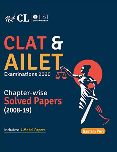 CLAT & AILET Chapter Wise Solved Papers 2008-2019