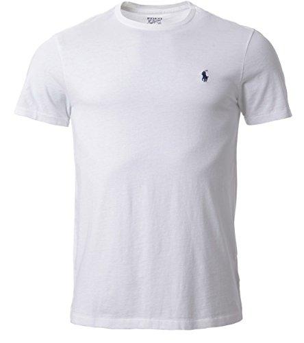 ralph-lauren-t-shirt-maglietta-con-girocollo-da-uomo-bianco-s