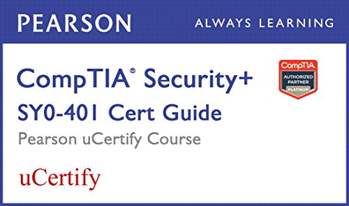 CompTIA Security+ SY0-401 Pearson uCertify Course Student Access Card por David L. Prowse