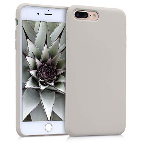 kwmobile Apple iPhone 7 Plus / 8 Plus Hülle - Handyhülle für Apple iPhone 7 Plus / 8 Plus - Handy Case in Beige