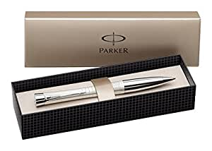 Parker Pen S0911450 Urban Pearl Metal Penna Sfera, Inchiostro Blu