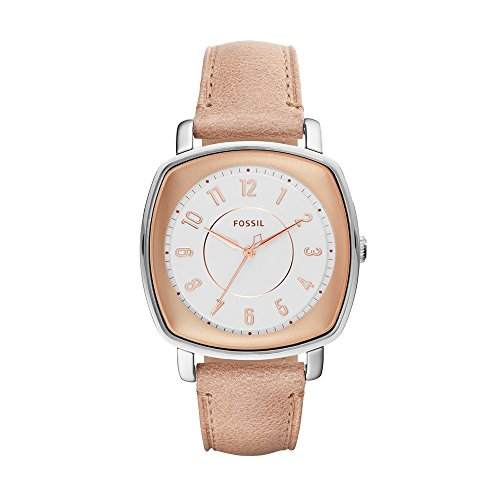 Fossil ES4196 Idealist Uhr Damenuhr Lederarmband Edelstahl 3 bar Analog Braun