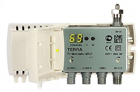TERRA - MT 47 Modulator domestique VHF