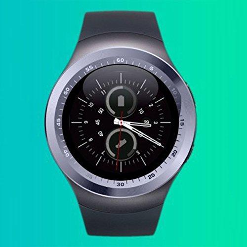 rt Watch Y1 Wasserdicht Sport Schlaf Monitor Schrittzähler Wristband für Android IOS (Iphone 5 Halloween-thema)