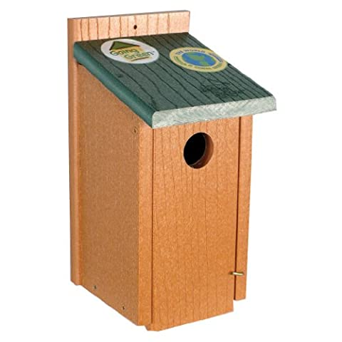 Woodlink Going Green Bluebird House Environmentally Friendly Large Feed
