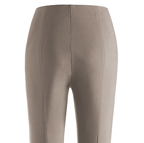 Stehmann Stretchhose *** Alaska-702 ***schmale 7/8 Hose mit Reißverschlusstaschen ähnlich Ina 740 **Neues Modell** lehm-488