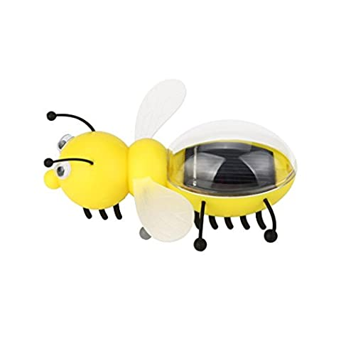 DAYLIN NEW Solar Powered Guarding Little Bee Gadget Brain Educational