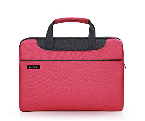 14 Zoll Laptop Tasche Tragbare Multifunktionsgewebe Wasserdichte Anti-Vibration Anti-Scratch Durable Leichte Laptop Hülle Aktentasche