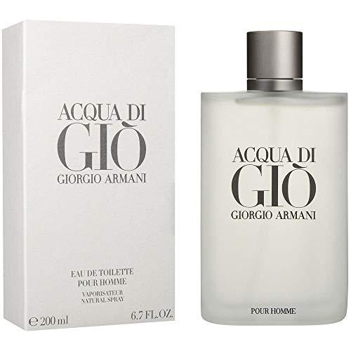 Giorgio Armani Acqua Di Gio Homme Men Eau de Toilette, 1er Pack (1 x 200 ml)