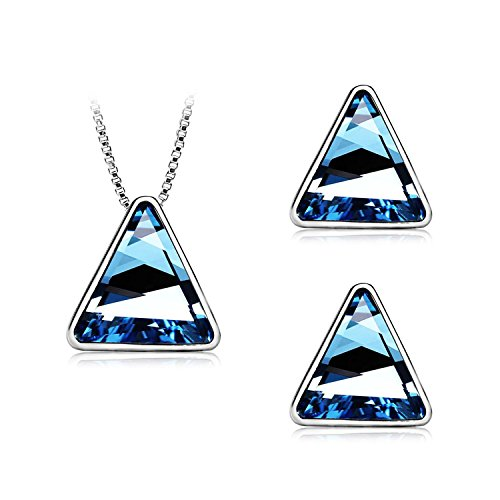 aischalove-dazzling-blue-triangular-swarovski-crystal-jewellery-setroof-style-earring-studs-pendant-