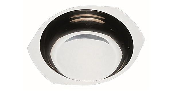 16cm APS 40102 Servier-//Beilagenschale rund /Ø ca 18//10 Edelstahl poliert 0,6 Ltr.