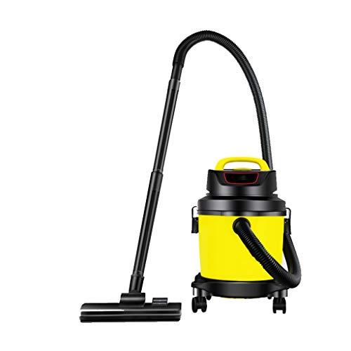 Aspirateur à tapis, soufflage humide et à sec d'une mini-machine à main puissante de 900 w ménage, (26x26x42cm) Lostgaming (Color : Yellow)
