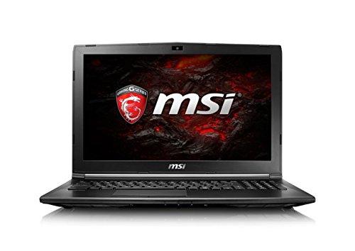 "MSI GL62M 7RD-429XES - Portátil de 15.6"" IPS FullHD (Intel Core i7-7700HQ, RAM de 8 GB, 1 TB HDD, SSD de 256 GB, nVidia Geforce GTX 1050 2 GB, teclado Steelseries, FreeDOS) negro"
