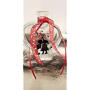 """Dekoflasche""""I love you"""", Geschenke, Valentinstag, Liebe"""