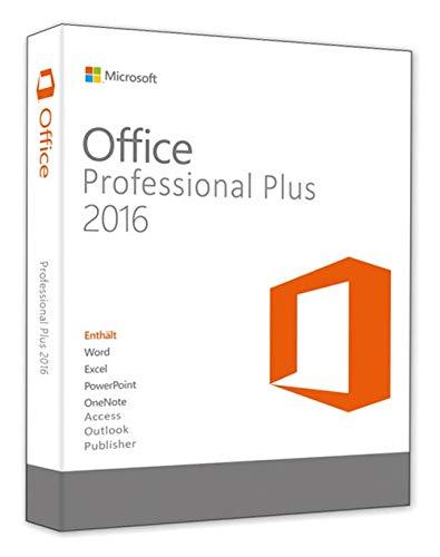 Office 2016 Professional Plus - Produktschlüssel - Deutsche Lizenz - 1 PC - Spacemex - Deutsch - Download - Produktschlüssel per Post