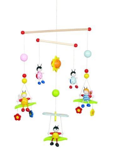 Goki 52954 - 3-D Mobile Bienen und Käfer (Welt Baby Mobile)
