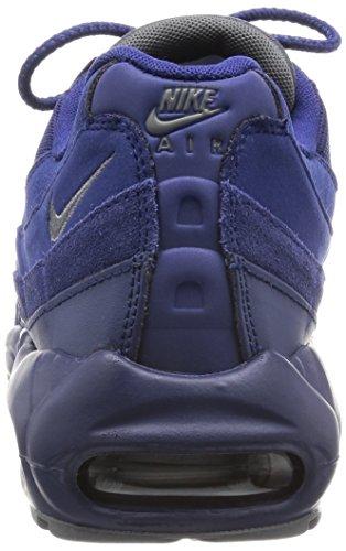 Nike Air Max 95 Essential, Chaussures de Sport Homme, Gris Bleu - Azul (Azul (Loyal Blue/Dark Grey-Lght Bone))