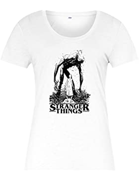 Demogorgon T-Shirt, Eleven Inspired Design Ladies Top