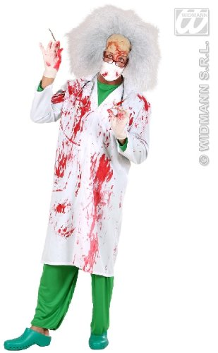 KOSTÜM - BLOODY DOCTOR - Größe 46/48 (Dr Halloween Kostüm)
