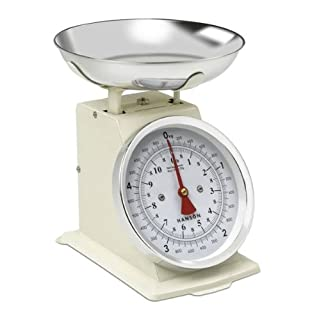 Terraillon H500 Cream 5kg Capacity Traditional Mechanical Kitchen Scale.