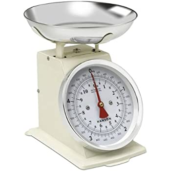 New 3kg Traditional Weighing Kitchen Scale Bowl Retro