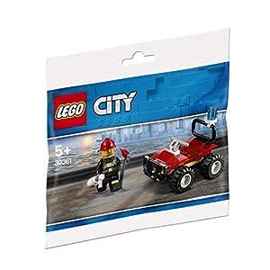 Lego 30361 - Passeggino dei vigili del fuoco, multicolore 5702016374773 LEGO