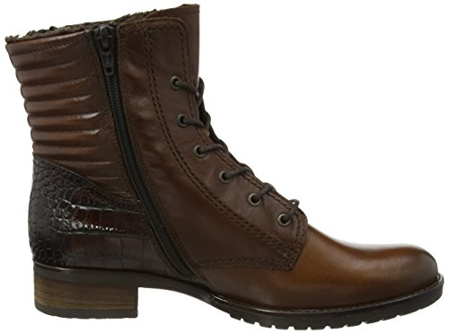Gabor Comfort Basic, Stivali classici imbottiti a gamba corta donna Marrone (Braun (castagno/teak(Eff) 78))