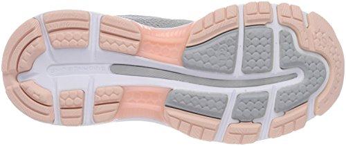 Asics Gel-Nimbus 20, Scarpe Running Donna Grigio (Mid Grey/mid Grey/seashell Pink 9696)