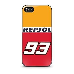 Coque iPhone 5/5S Marc Marquez MotoGP Honda Repsol 93 - iPhone 5/5s Case