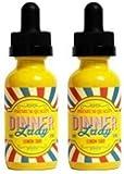 2 Bottles of 50ml Dinner Lady E-liquid 0mg (No Nicotine)(Lemon Tart) + FREE VAPE BAND