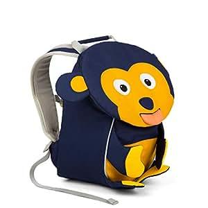 Affenzahn Kinderrucksack mit Brustgurt Albert AFFE für 1-3 Jährige Jungen und Mädchen im Kindergarten oder Kita - Blau