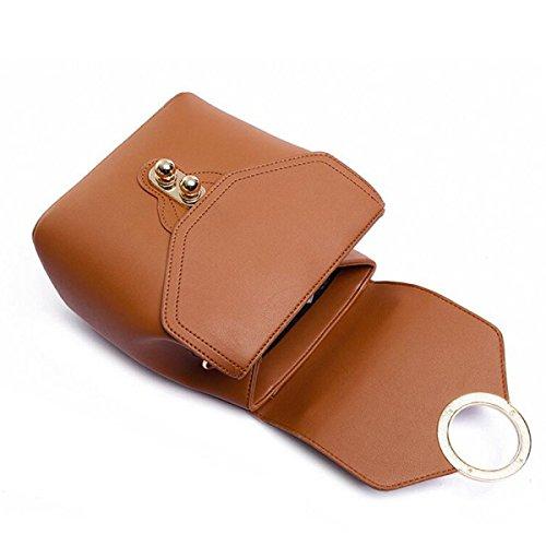 MEI Ms. Umhängetasche Handtasche Retro Ring Copper