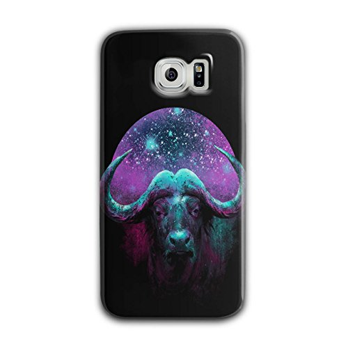 wild-buffalo-star-horn-beast-new-black-3d-samsung-galaxy-s6-case-wellcoda