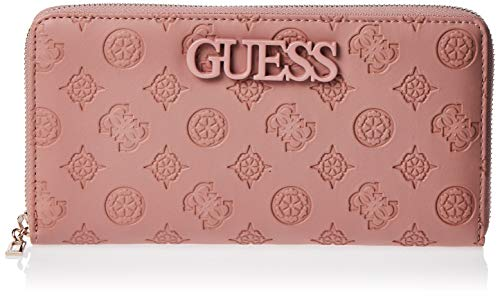 Guess - Janelle, Carteras Mujer, Rosa Rosewood, 3x11x21
