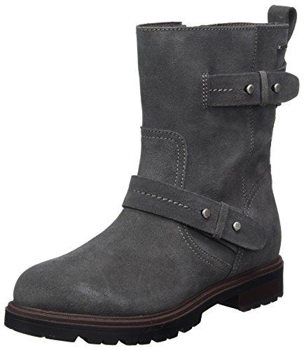 Clarks Doxburywisegtx, Botas De Mujer Gris (gris Oscuro)