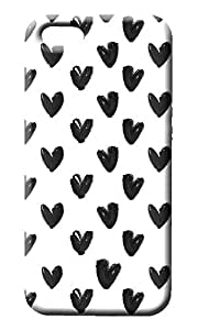 Heart Pattern Cover for Apple iPhone 5/5S