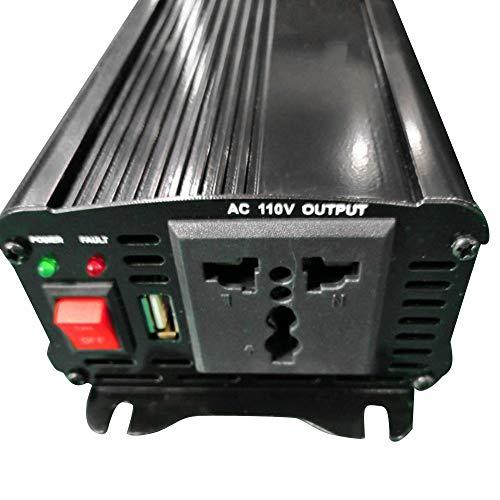 KKmoon 1000 Watt Auto Power Inverter Solar Wechselrichter DC 12 V zu AC 110 V Geändert Sinus Converter mit Dual USB Schnittstelle -