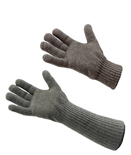 Carbon-faser-tuch (neoLab 2-4095 Hitze-/Kälte-Fingerhandschuhe, kurz, Größe 7-8,5, Paar)